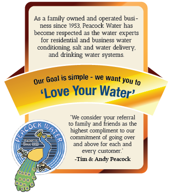 Love your Water at Peacock Water