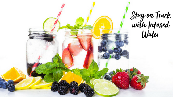 Stay on Track with Infused Water